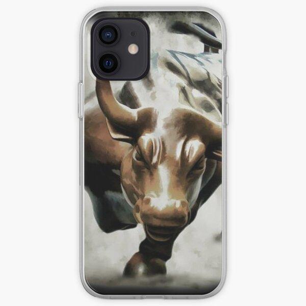 Bull Wall Street iPhone Soft Case