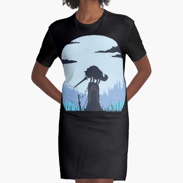 wolf soul | The swordswolf Graphic T-Shirt Dress
