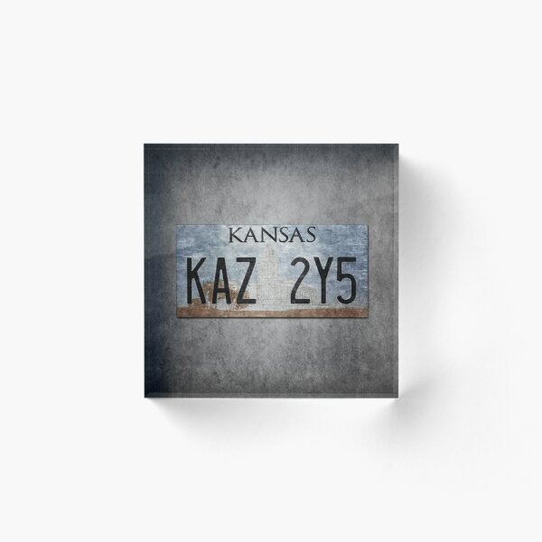 Supernatural KAZ Plate Acrylic Block