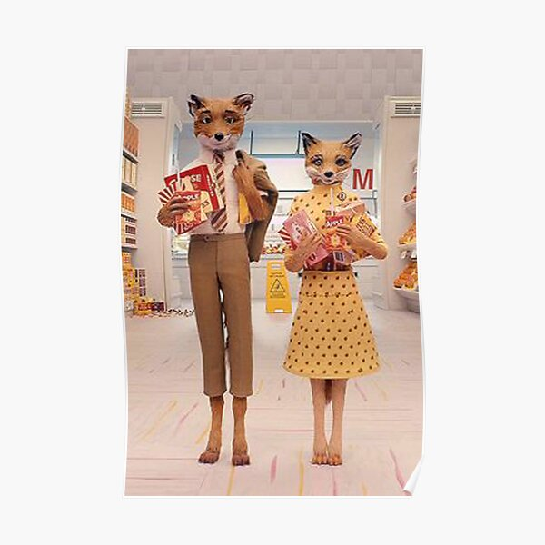 mr.fox couple Poster