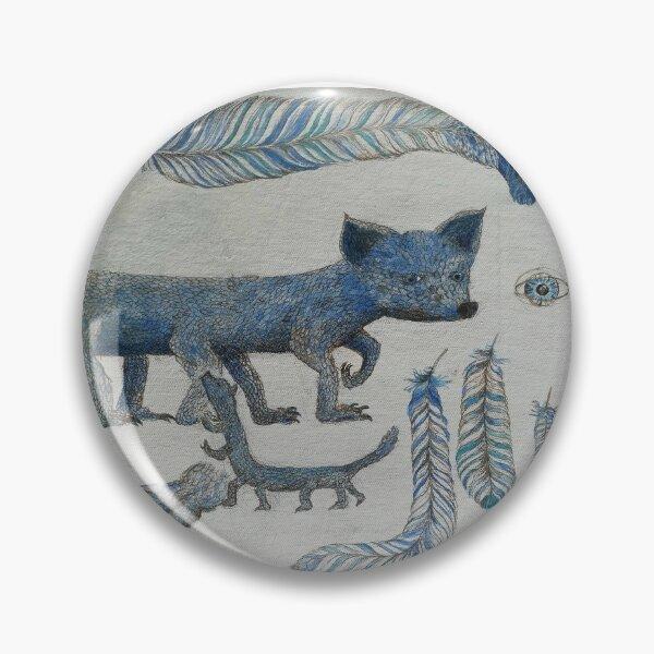 Mystische Wesen: Federfuchs  Button