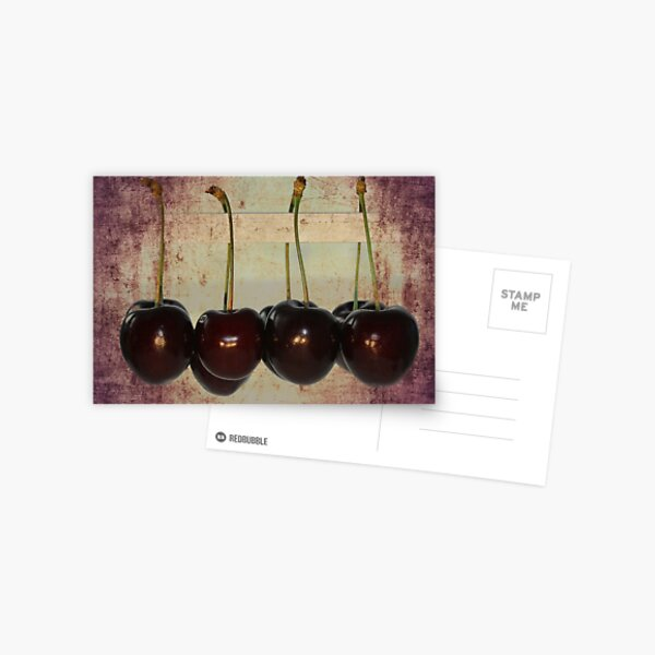 Cherries Postkarte