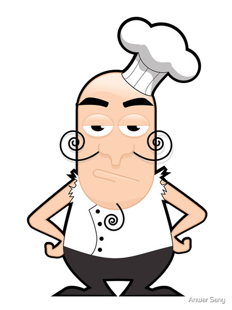 Angry Chef by Anwar Sany