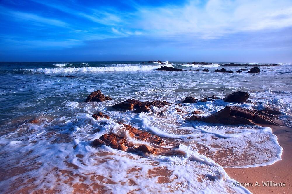 Cool Blue Sea by Warren. A. Williams