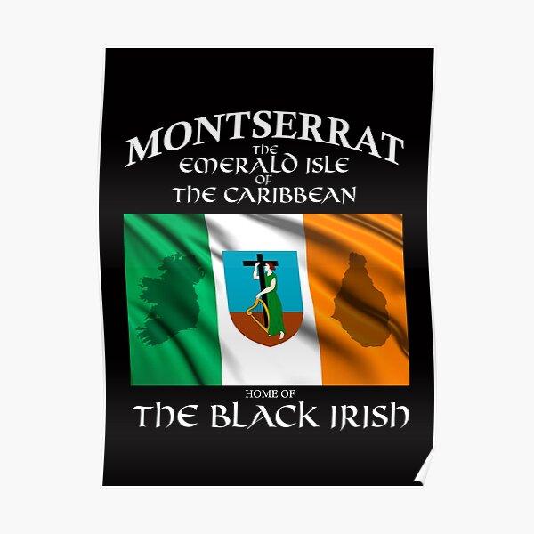Montserrat Irish Poster