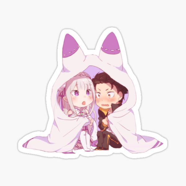 Re:Zero Chibi cute Sticker