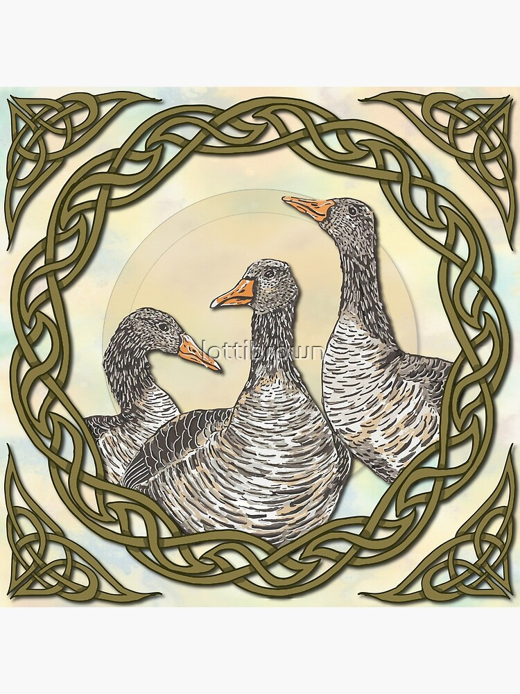 Celtic Goose by lottibrown