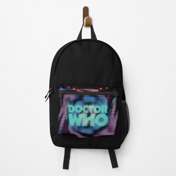 Doctor who 70s logo Backpack