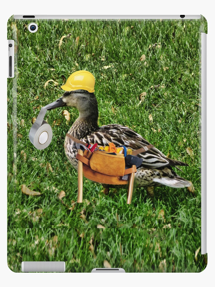 ✾◕‿◕✾ I CAN FIX ANYTHING..WHERE'S THE DUCK TAPE (DUCK IPAD CASE) by ✿✿ Bonita ✿✿ ђєℓℓσ