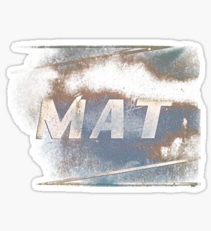 MAT Sticker