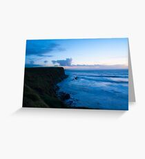 Lahinch Valentines Day Sunset Greeting Card