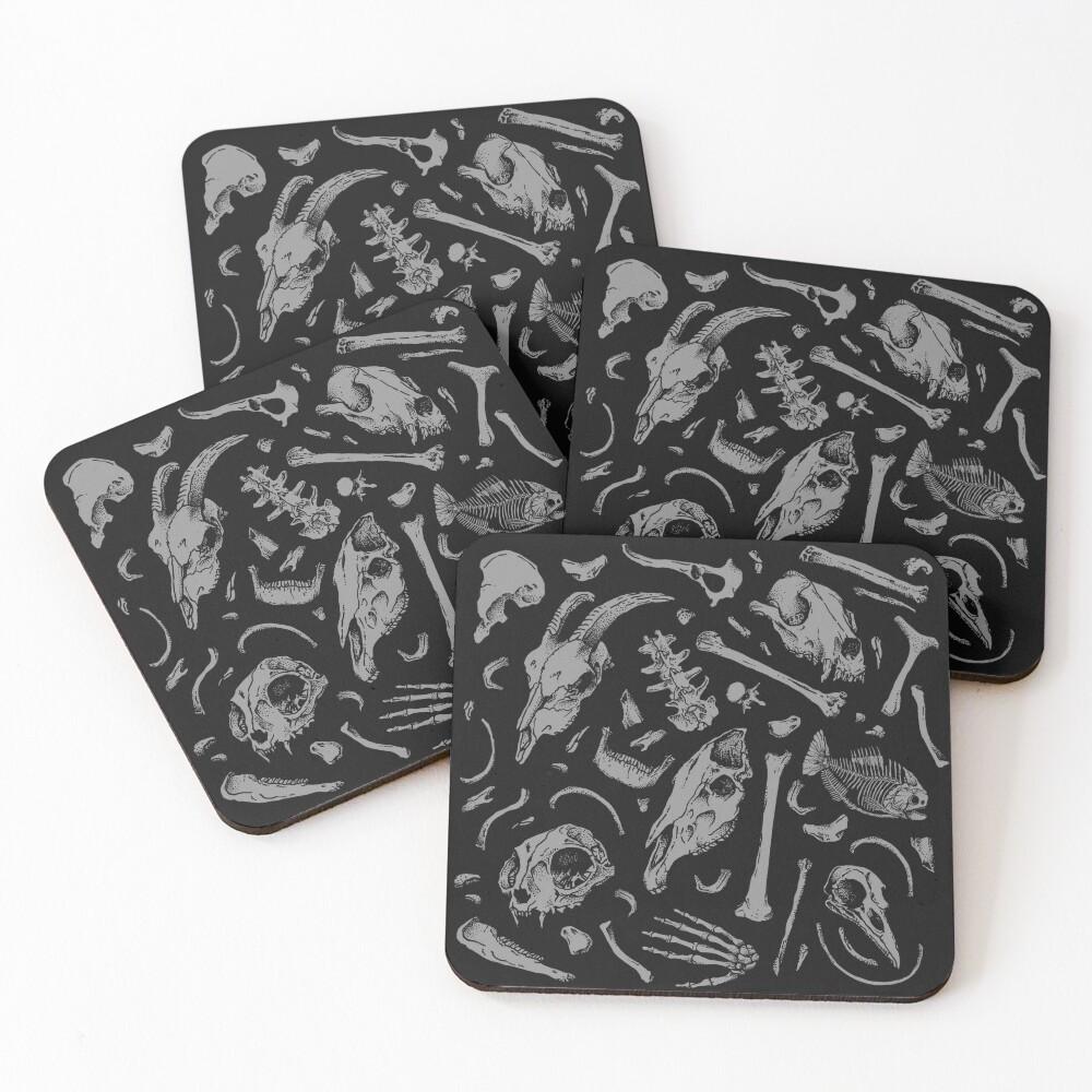 Bones Coasters (Set of 4)