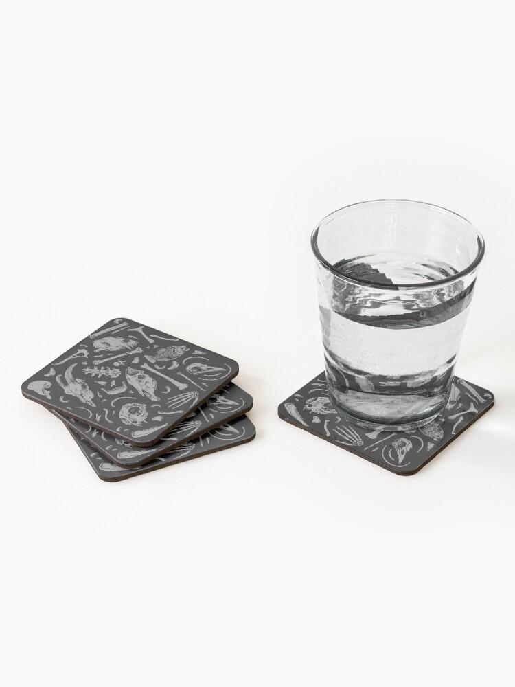 Alternate view of Bones Coasters (Set of 4)