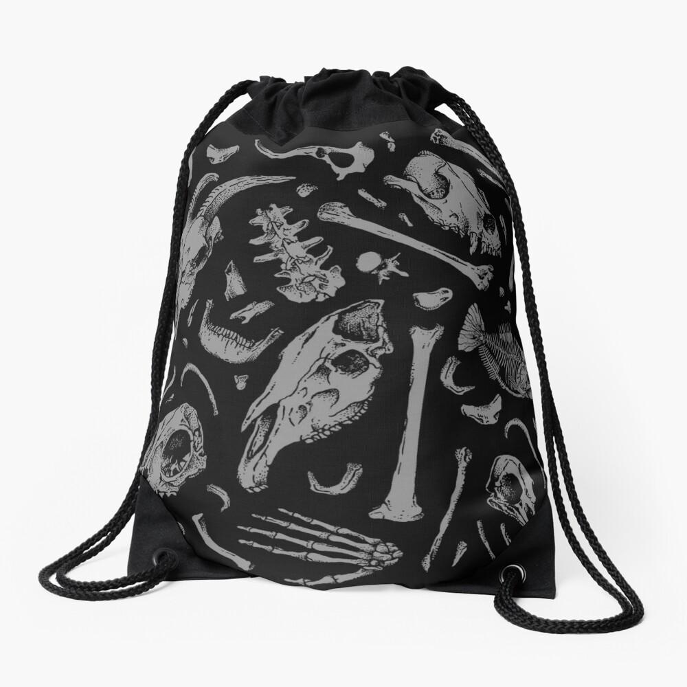 Bones Drawstring Bag
