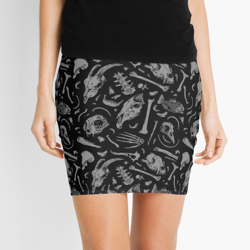 Bones Mini Skirt