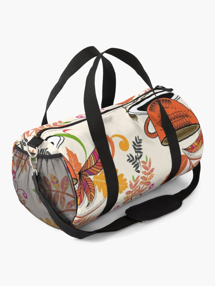 Alternate view of Autumn Hello October Duffle Bag