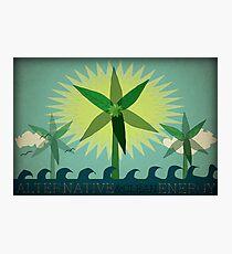 Alternative Energy Photographic Print