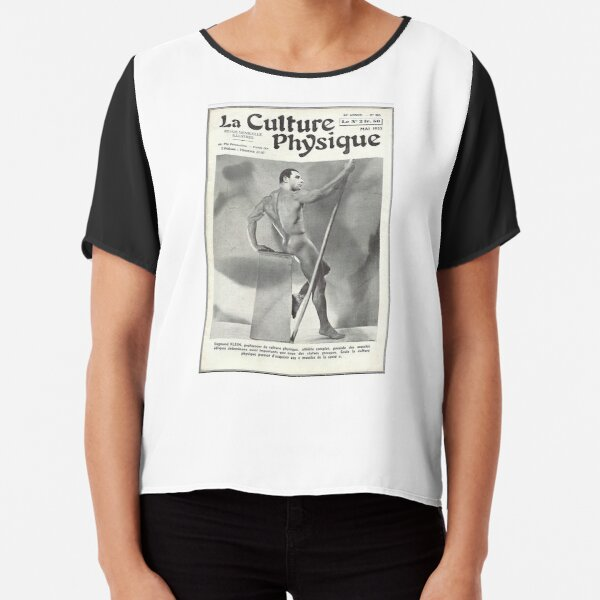 La Culture Physique May 1937 Professor Siegmund Klein Chiffon Top