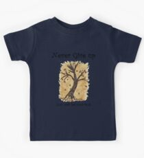 A Happy Tree on Tshirt Kids Tee