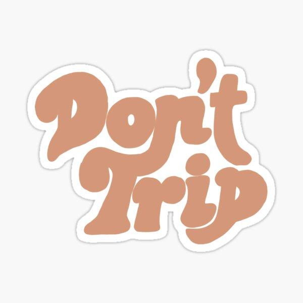 ne voyage pas Sticker