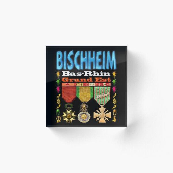 Bischheim Bas-Rhin Grand Est Bloc acrylique