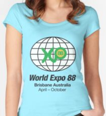 Expo 88 Women's Fitted Scoop T-Shirt