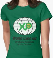 Expo 88 Women's Fitted T-Shirt