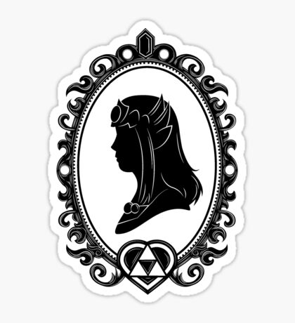 Heroes of Hyrule - The Princess (light tee version) Sticker