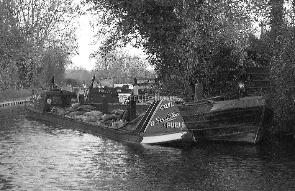 """"""" Coal Boats """" by terryfellows"""