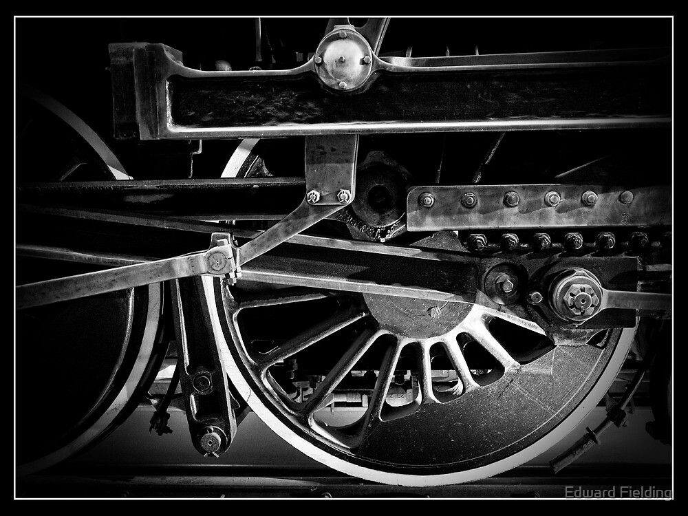 Steel Wheels Iron Horse by Edward Fielding