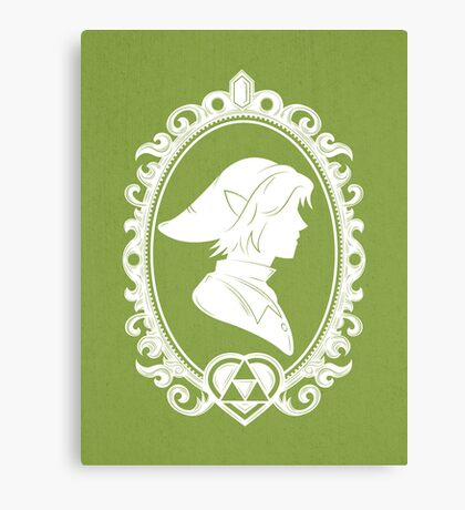 Heroes of Hyrule - The Warrior Canvas Print