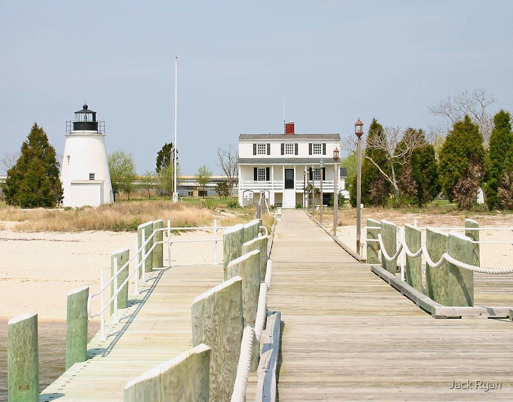 Piney Point Lighthouse by Jack Ryan