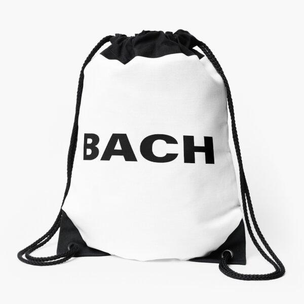 Johann Sebastian BACH Classical Composer Print Drawstring Bag
