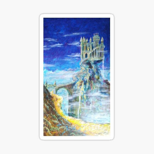 Der Weg zur Burg Hohenwarth  Sticker