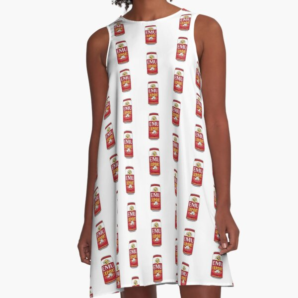 Bush Chook A-Line Dress