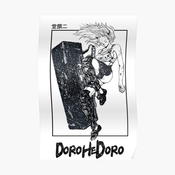 Dorohedoro - Nikaido Design Póster