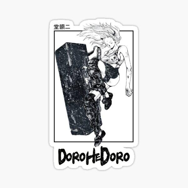 Dorohedoro - Nikaido Design Sticker