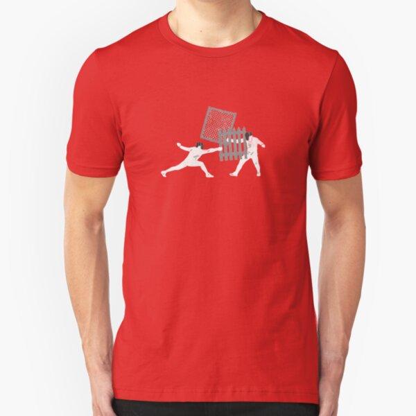 Ghetto Fencing Slim Fit T-Shirt