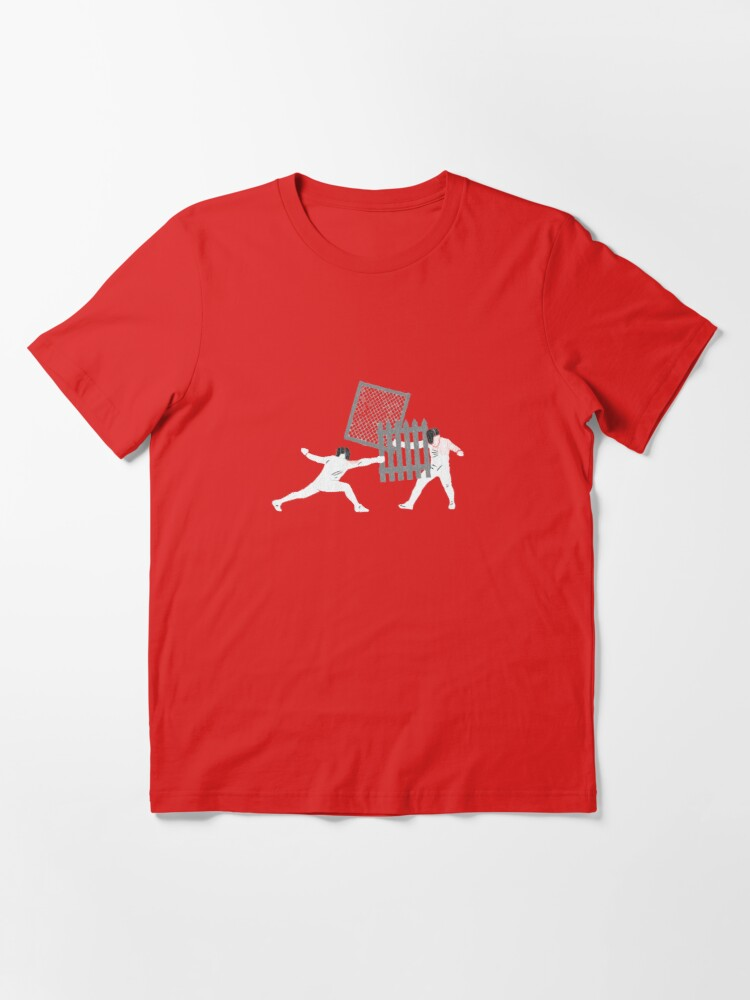 Alternate view of Ghetto Fencing Essential T-Shirt