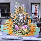 Ganesh Graffiti by Sheldon Levis