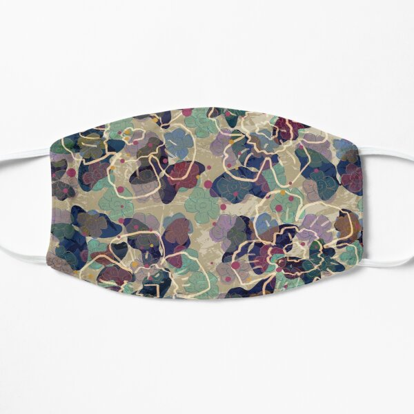 Butterflowers French Grey Mask