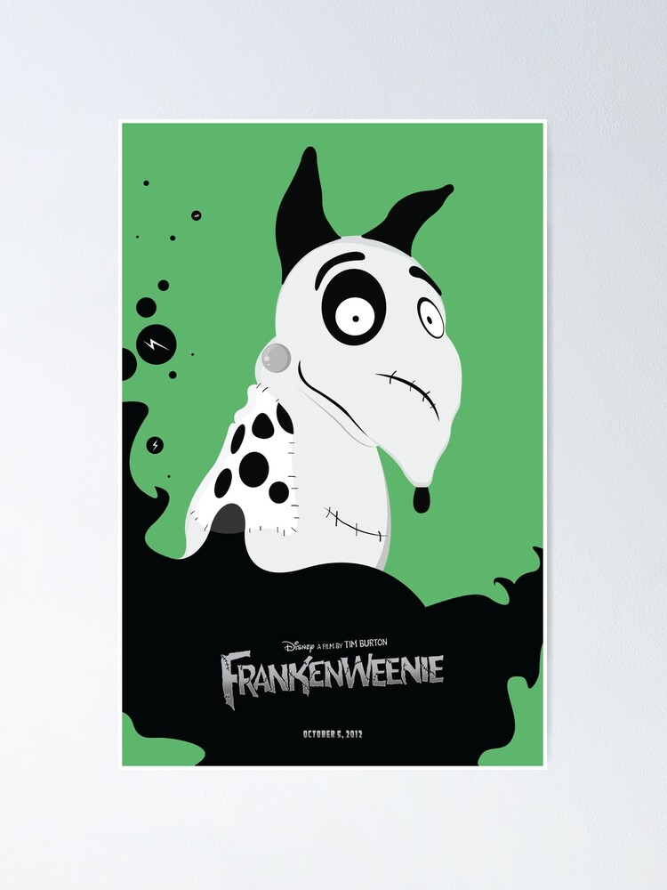 Frankenweenie Poster By Dylannn Redbubble