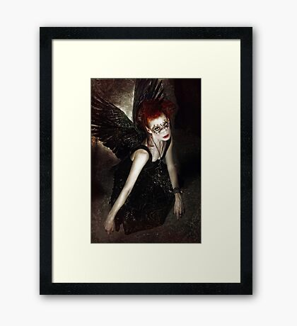 Of a Shadowed Realm Framed Print