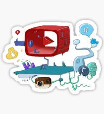 Social Medias Sticker