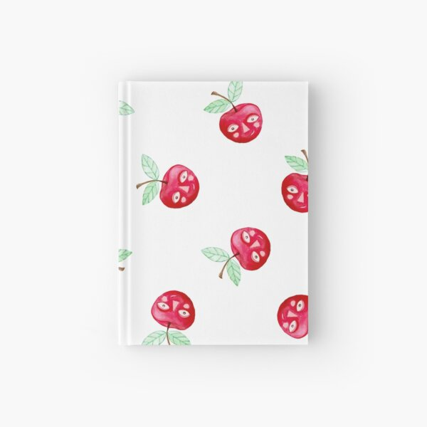 Oh, Cherie! Pattern White Background Hardcover Journal