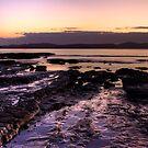 Rocky Sunrise - Martins Bay, New Zealand by ValHallen