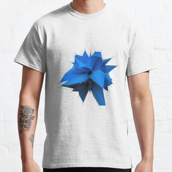 Blue Polygon Classic T-Shirt