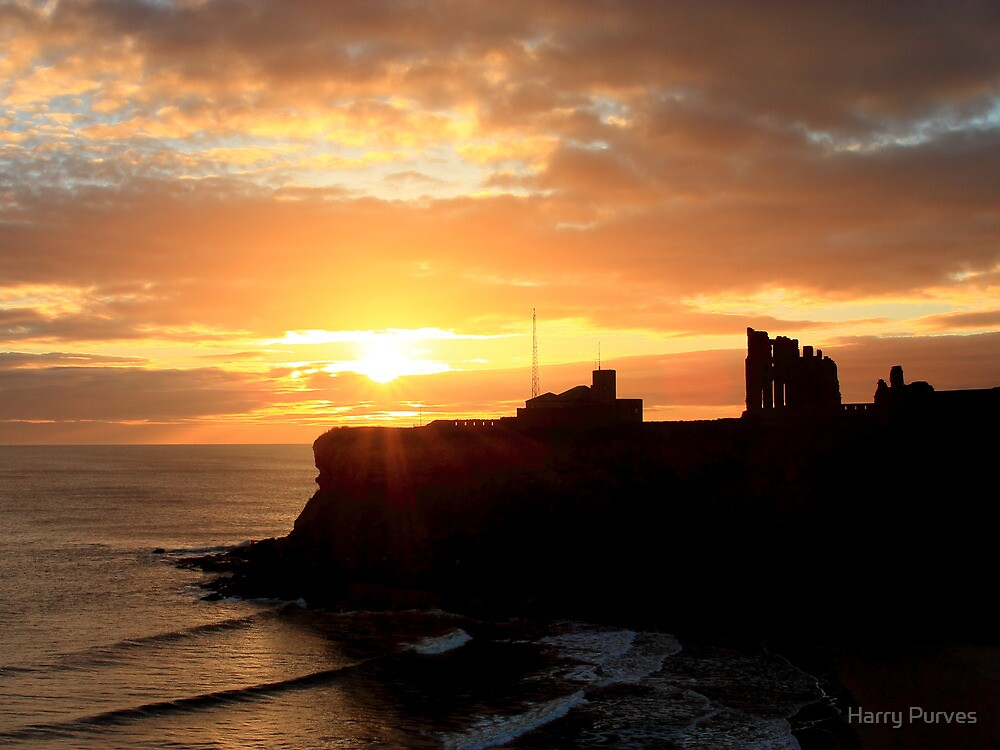 Priory Sunrise by Harry Purves