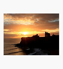 Priory Sunrise Photographic Print