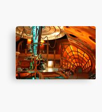 Doctor Who Tardis Interior Canvas Print